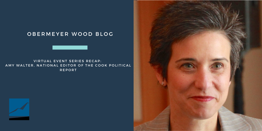 Obermeyer Wood Virtual Event Series Recap: Amy Walter, National Editor of The Cook Political Report Thumbnail