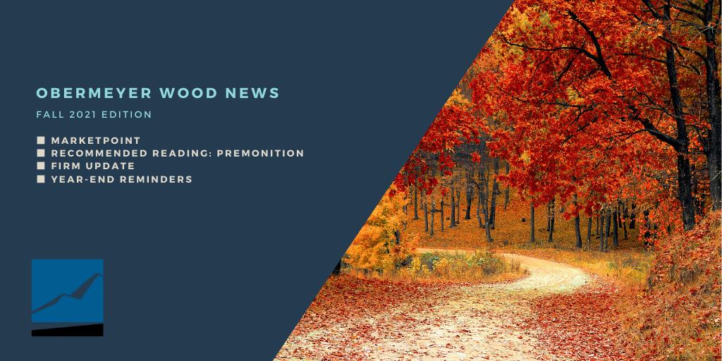 Obermeyer Wood News - Fall 2021 Thumbnail