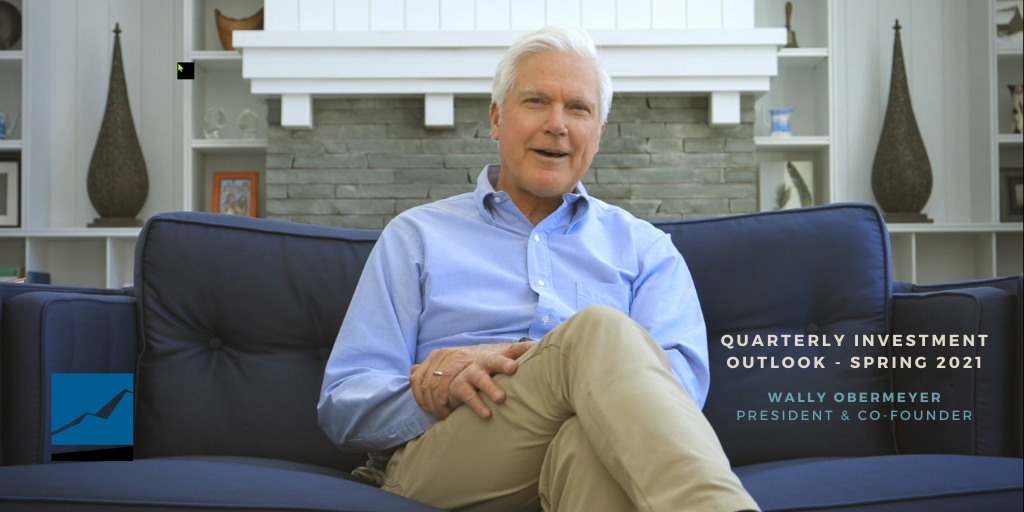 Video: Spring 2021 Quarterly Investment Outlook with Wally Obermeyer Thumbnail