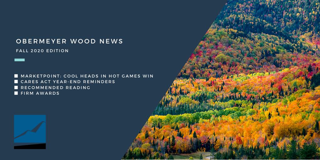 Obermeyer Wood News – Fall 2020 Edition Thumbnail