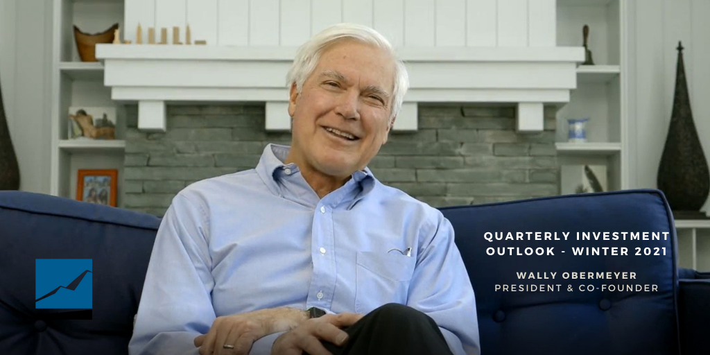 Video: Quarterly Investment Outlook from Wally Obermeyer Thumbnail