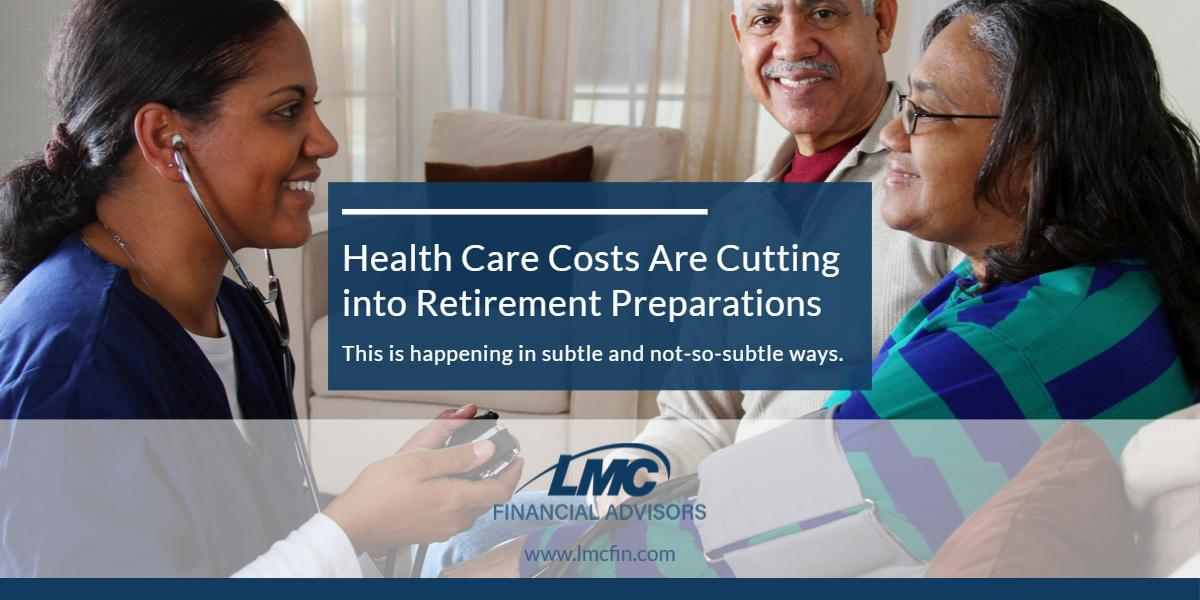 Health care costs are cutting into retirement preparations Thumbnail