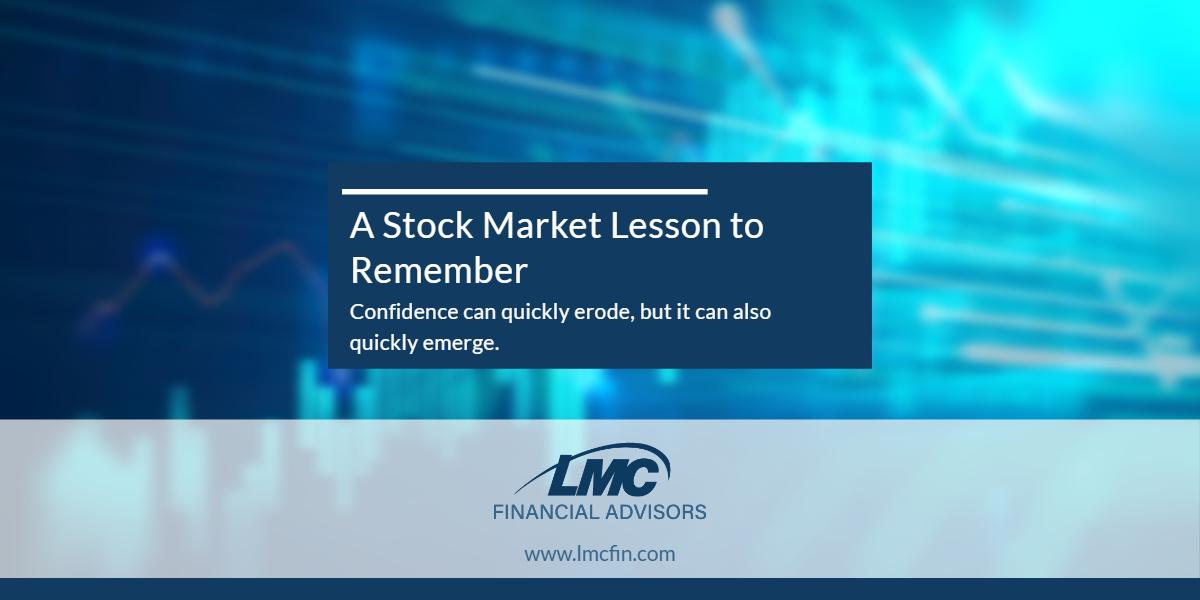 A stock market lesson to remember Thumbnail
