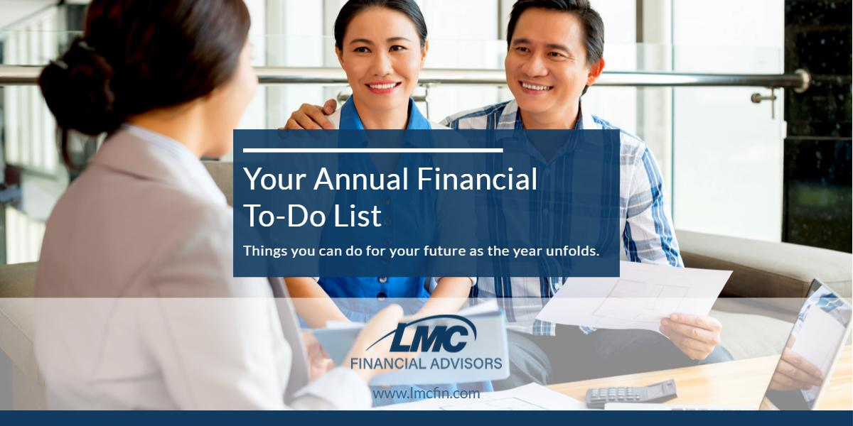 Your annual financial to-do list Thumbnail