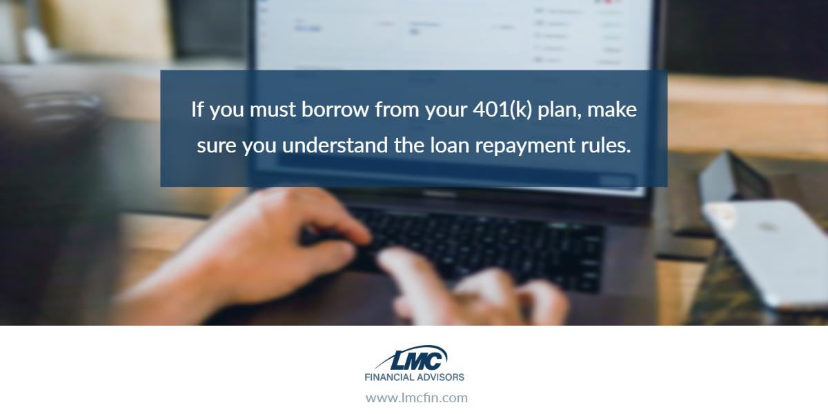 Understanding 401(k) loan repayment rules Thumbnail