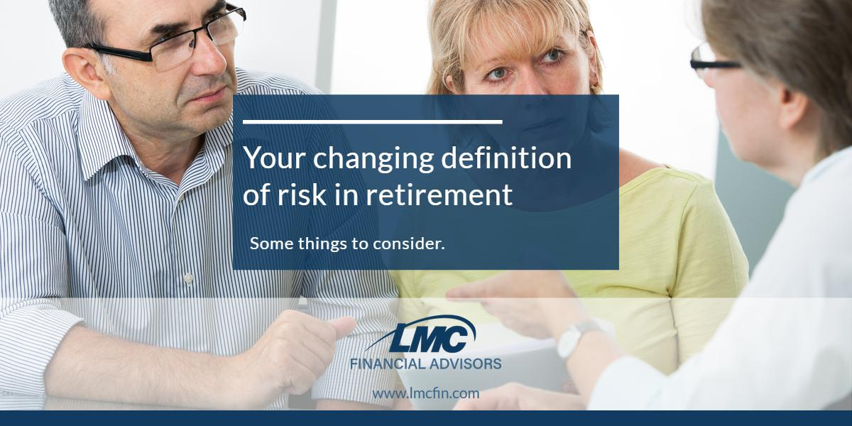 Your changing definition of risk in retirement Thumbnail