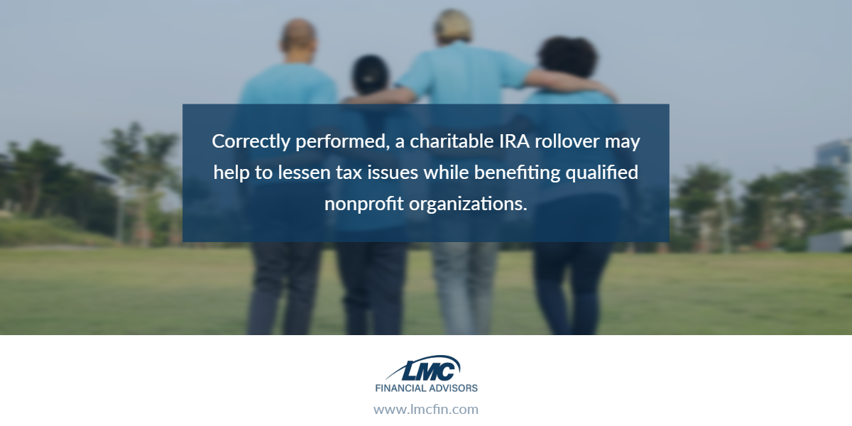Consider an IRA charitable rollover Thumbnail