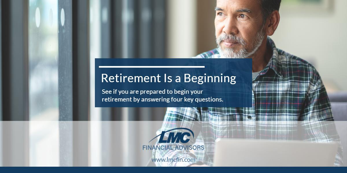 Retirement is a beginning Thumbnail