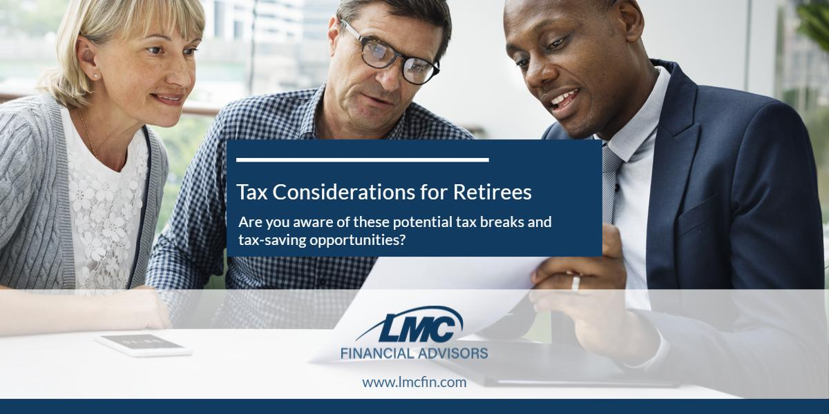 Tax considerations for retirees Thumbnail
