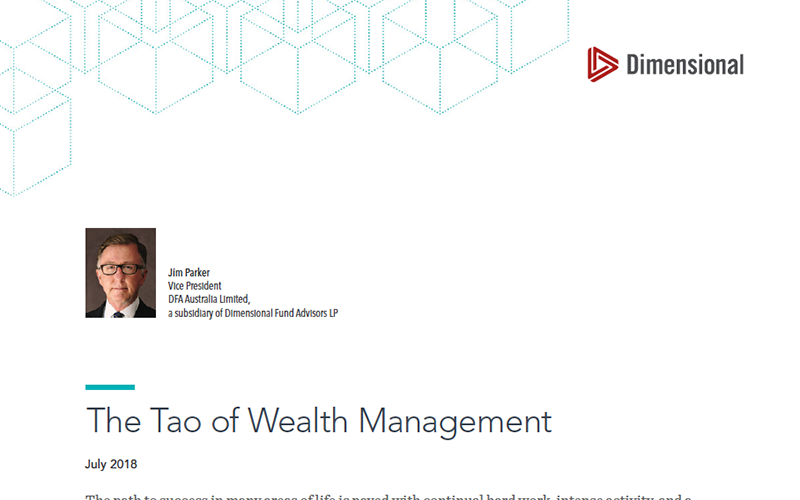 The Tao of Wealth Management Thumbnail