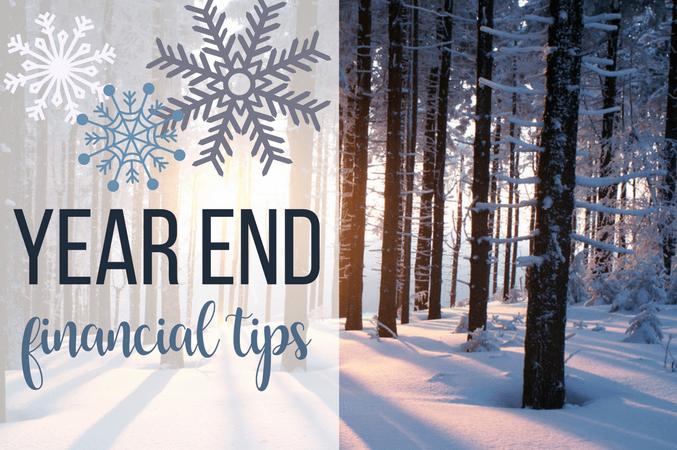 2020 Year End Financial Tips Thumbnail