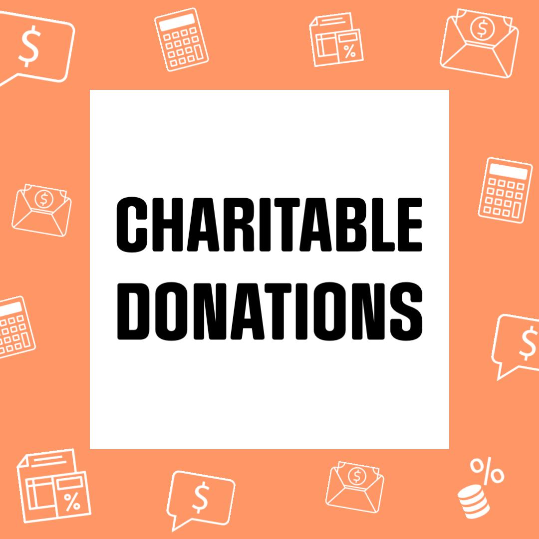 Charitable Donations Thumbnail