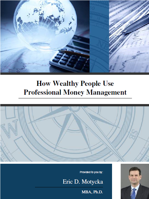 "Book cover for the Ebook ""How Wealthy People Use Professional Money Management"""