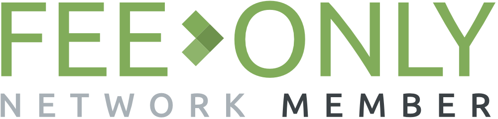Fee Only Network logo in green, black, and grey