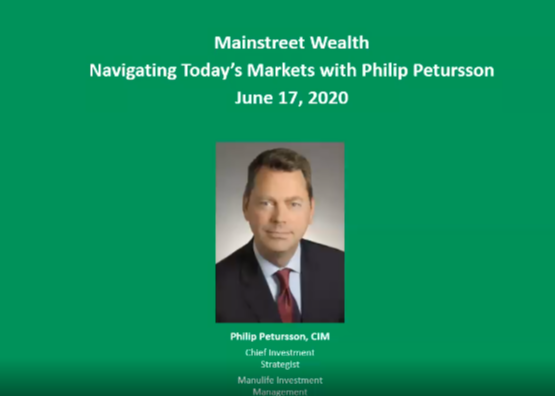 Navigating Today's Markets w/Philip Petursson Thumbnail