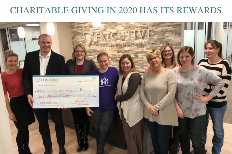 Charitable Giving in 2020 Has Its Rewards Thumbnail