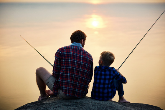 Fishing, Finding Time & Financial Matters: 5 Lessons I Learned From MyDad - Finger Financial Five #6 Thumbnail