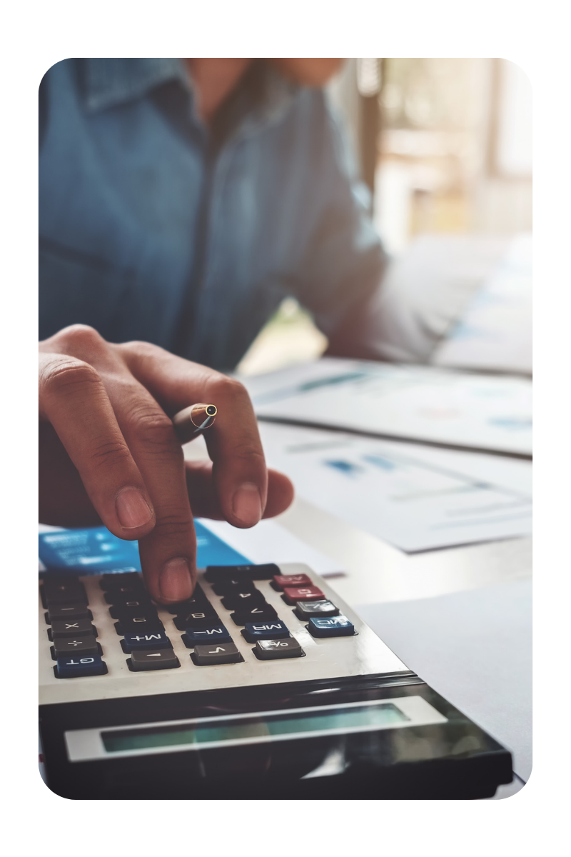 Calculating financial ratios and metrics for rental property
