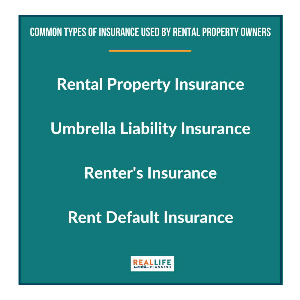 Common Types of Insurance Used By Rental Property Owners