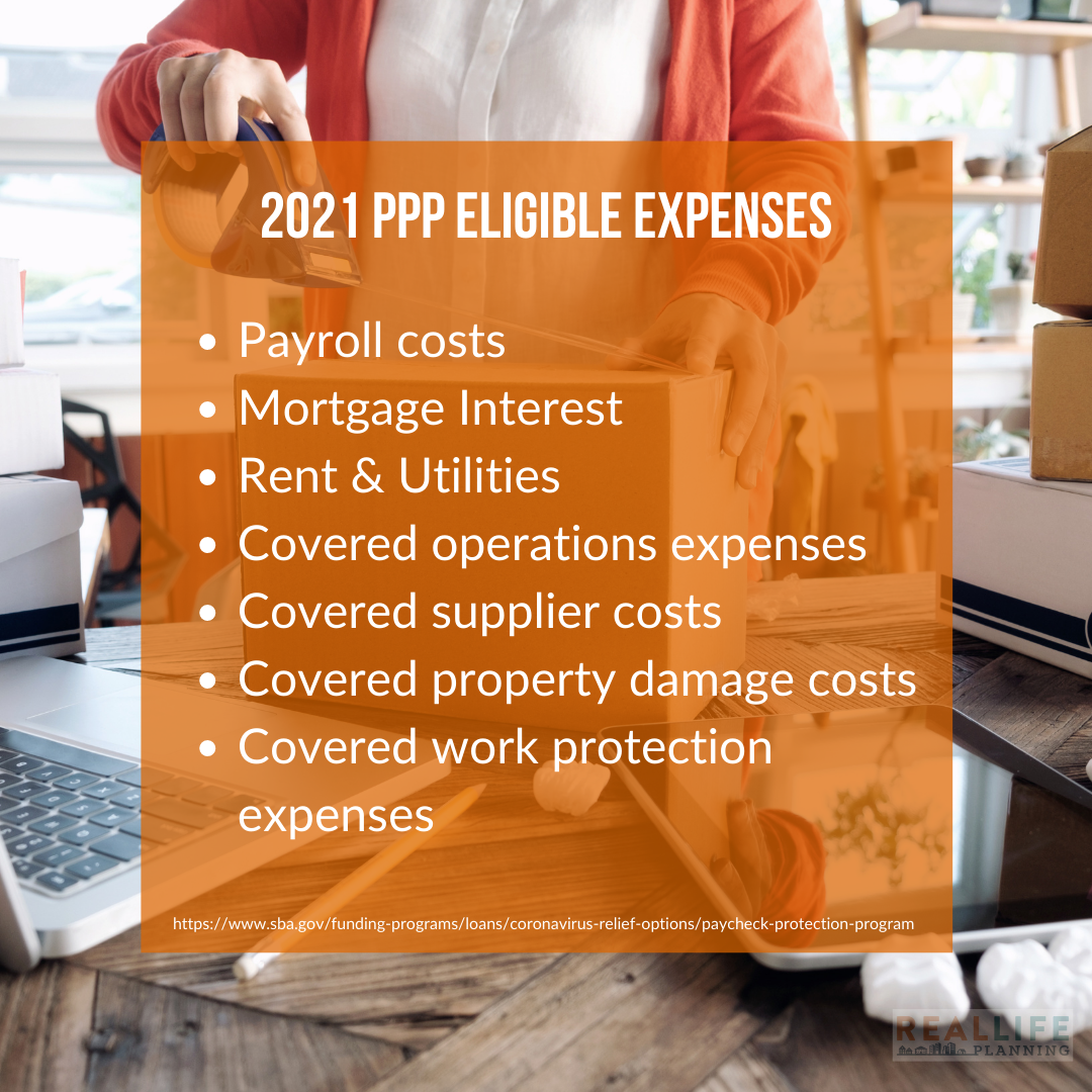 2021 PPP Eligible Expenses