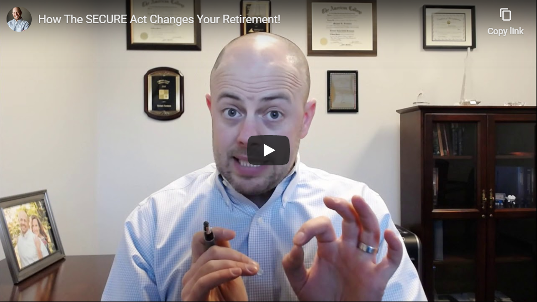 How The SECURE Act Changes Your Retirement! Thumbnail