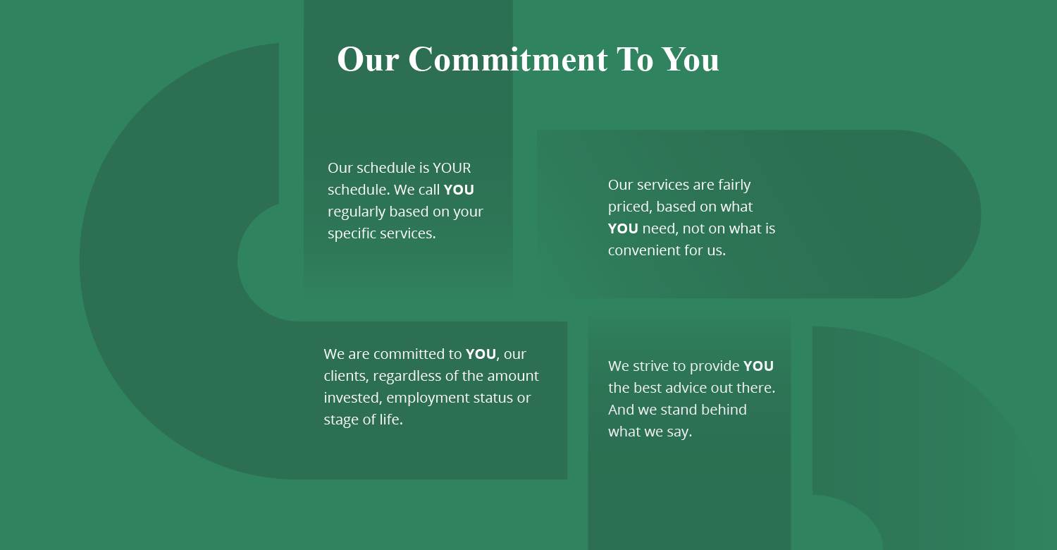 Our commitments to our clients