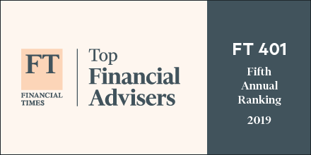 Kevin Chang Named to 2019 Financial Times 401 Top Retirement Advisers Thumbnail