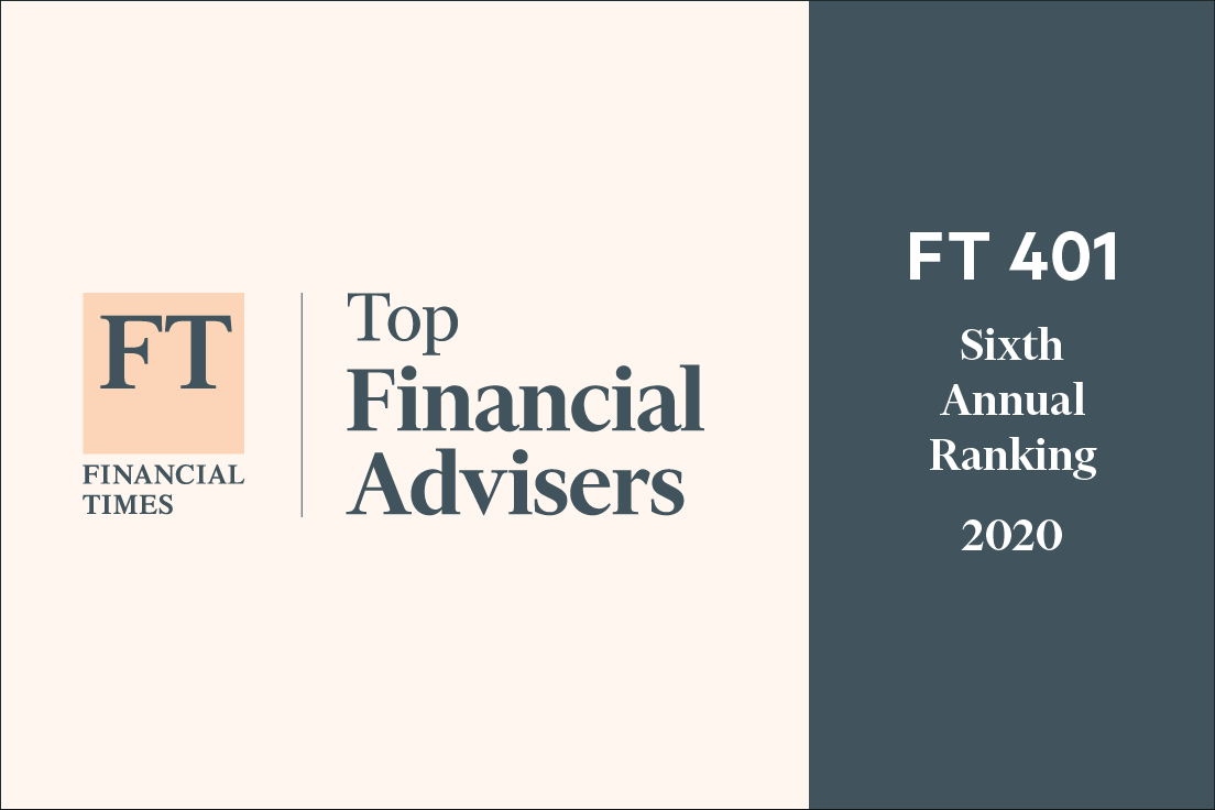 Kevin Chang Named to 2020 Financial Times 401 Top Retirement Advisers  Thumbnail