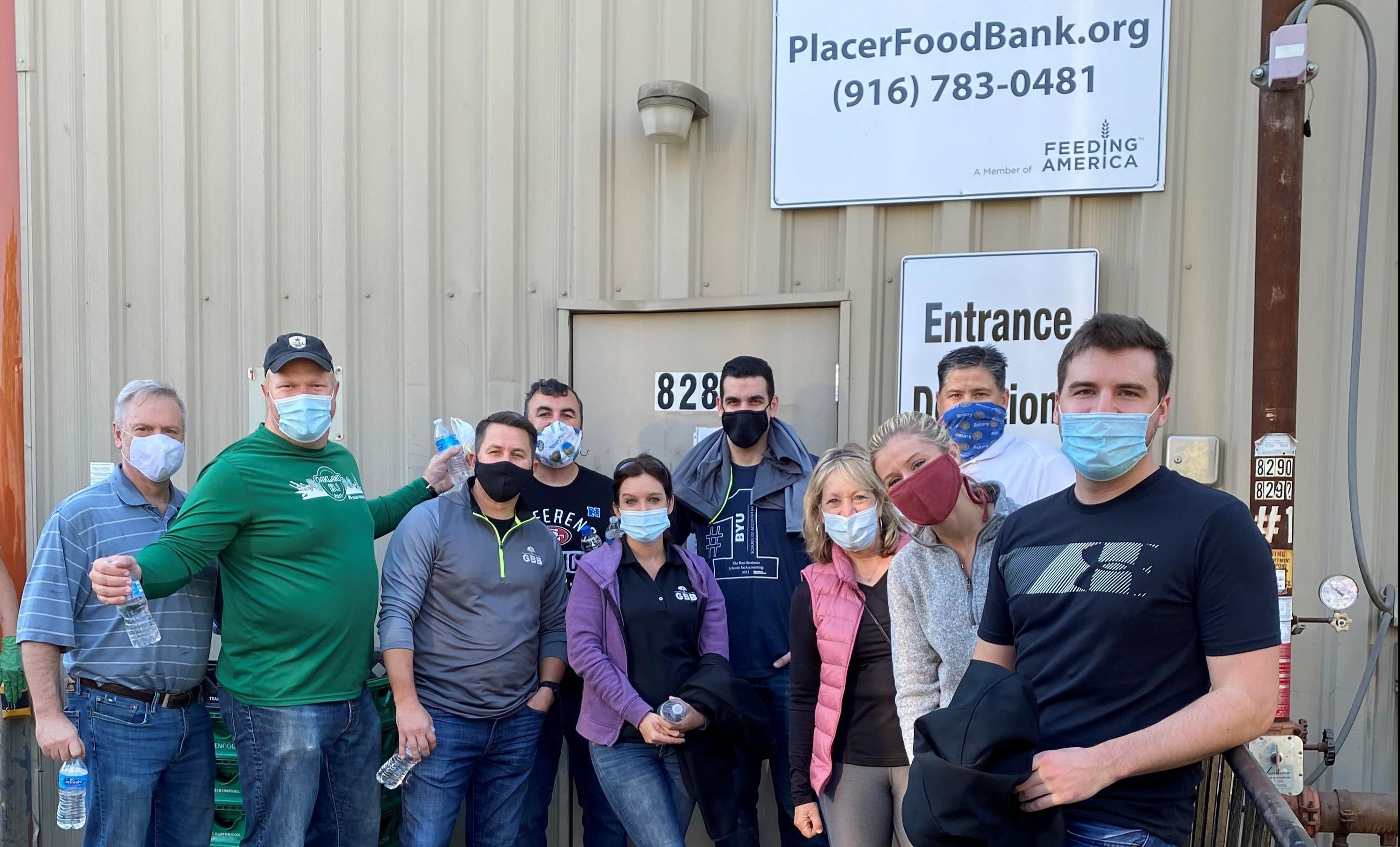 GBB Volunteers at the Placer Food Bank Thumbnail