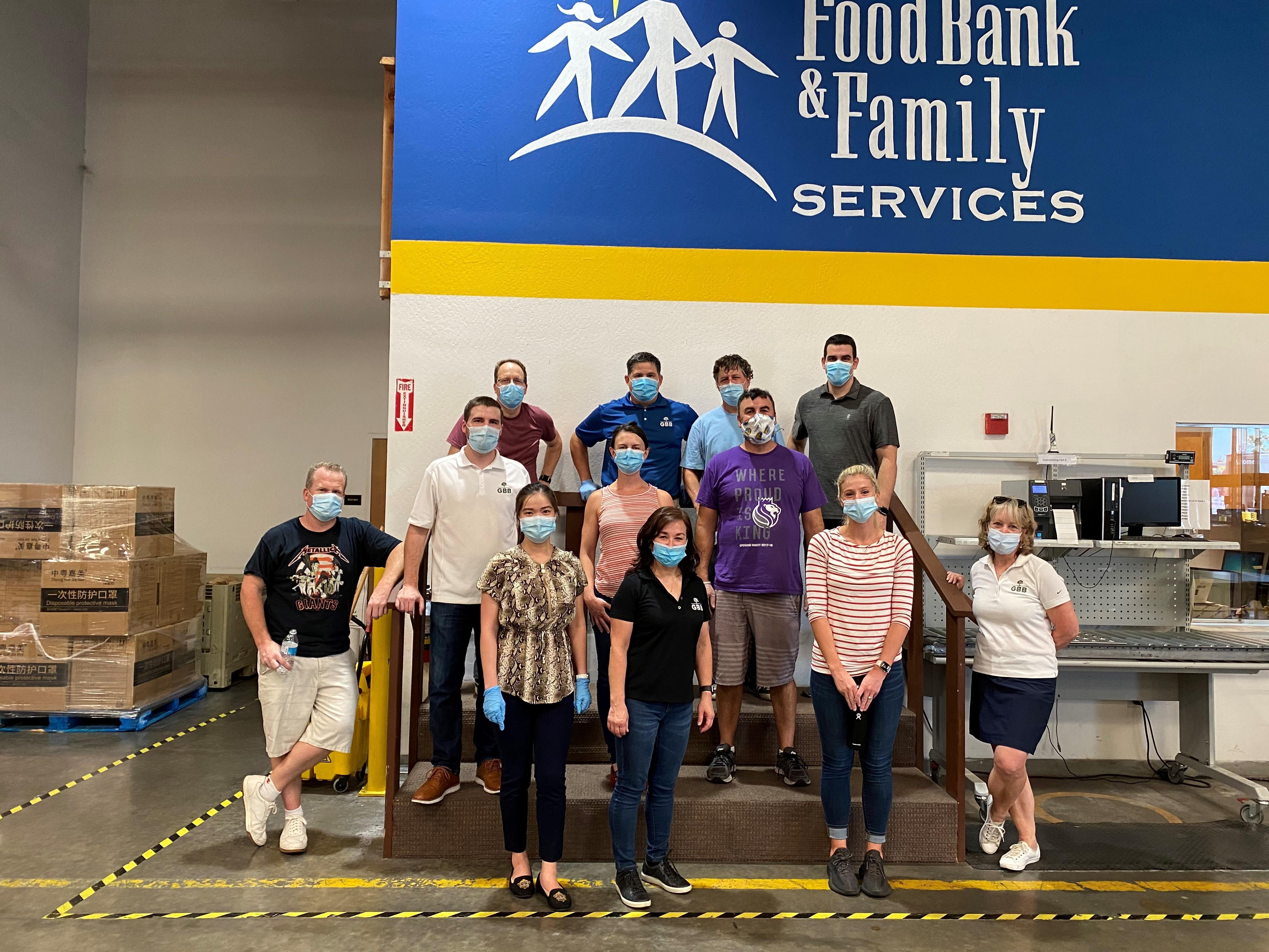 GBB Volunteers at the Sacramento Food Bank Thumbnail