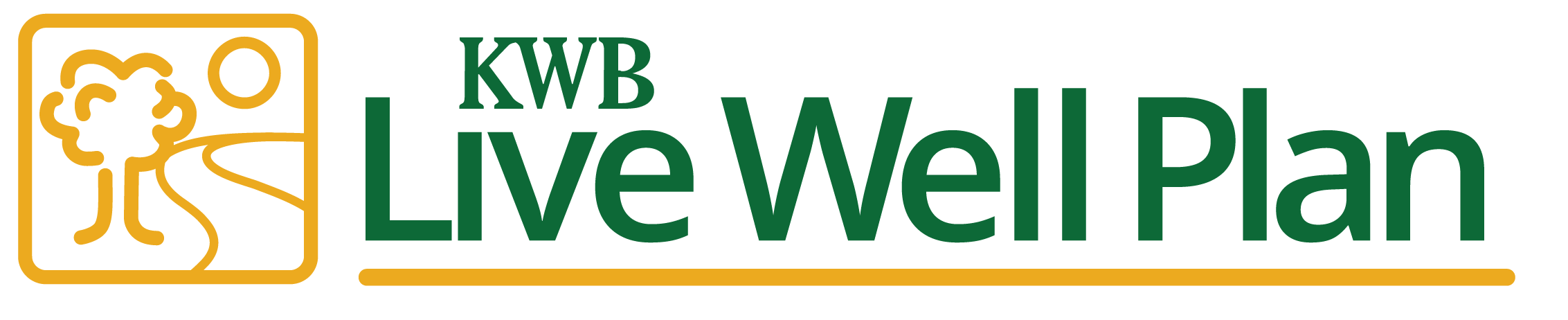 KWB Wealth | Redlands, CA: live well plan logo