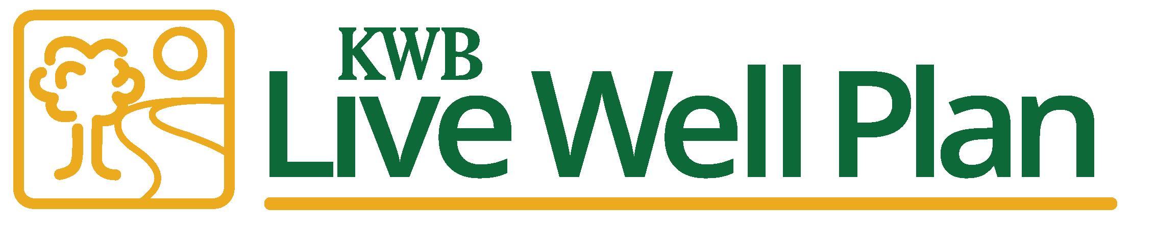 KWB Wealth | Redlands, CA: live well plan logo
