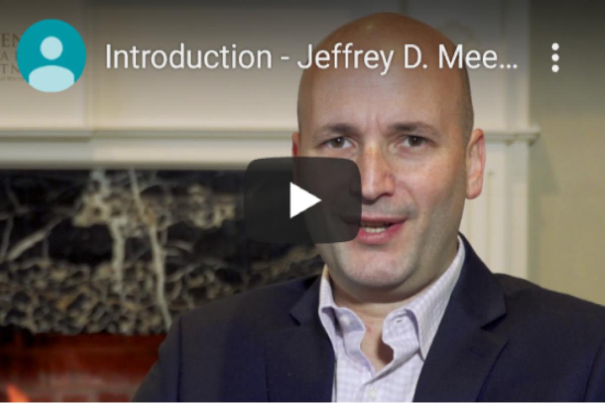 Introduction - Jeffrey D. Meenes, CFP Thumbnail