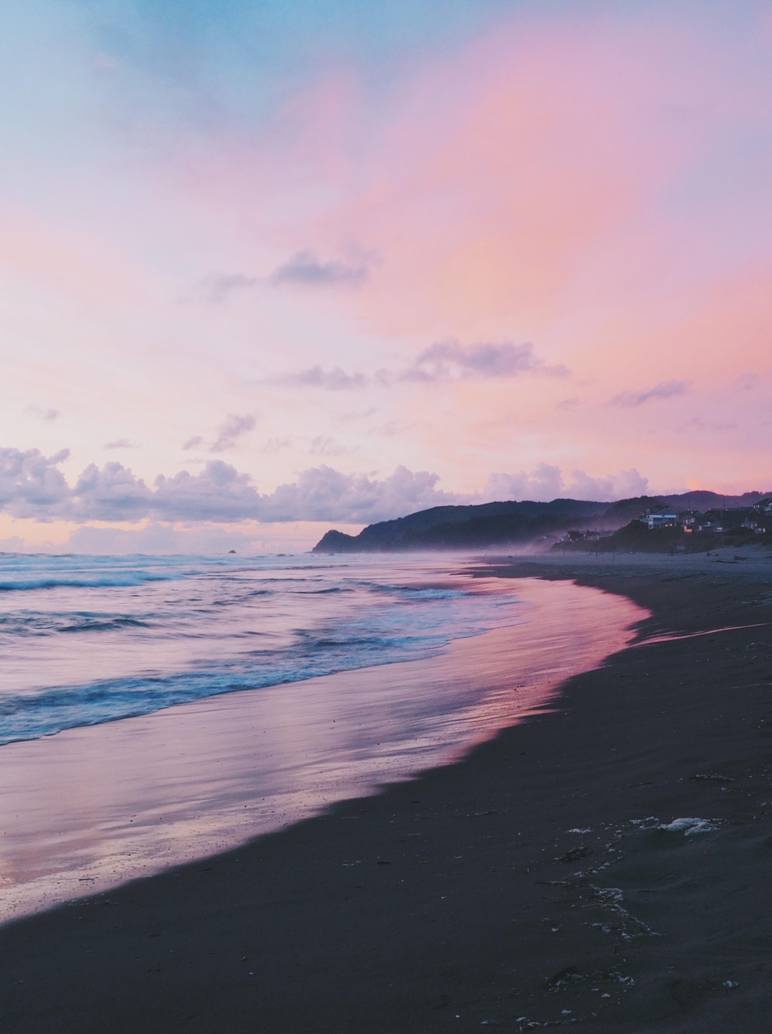 magic hour sunset