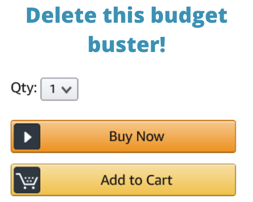 Amazon Buy Now button is terrible for budgeting