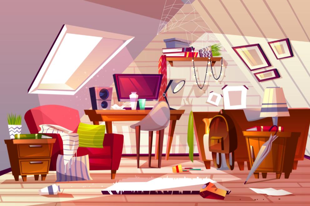 Of Clutter I Utter Thumbnail