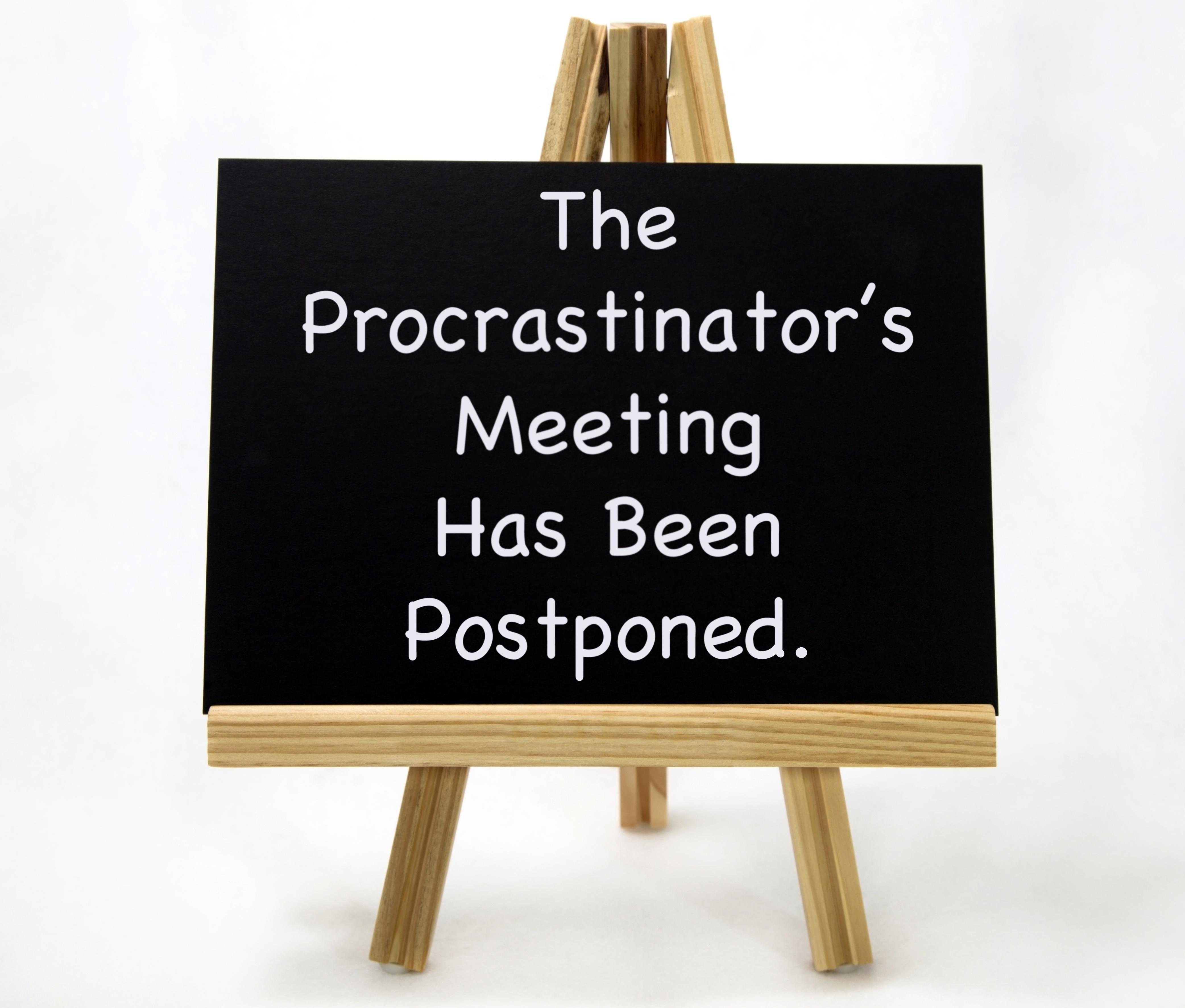 Are You A Financial Procrastinator? Thumbnail