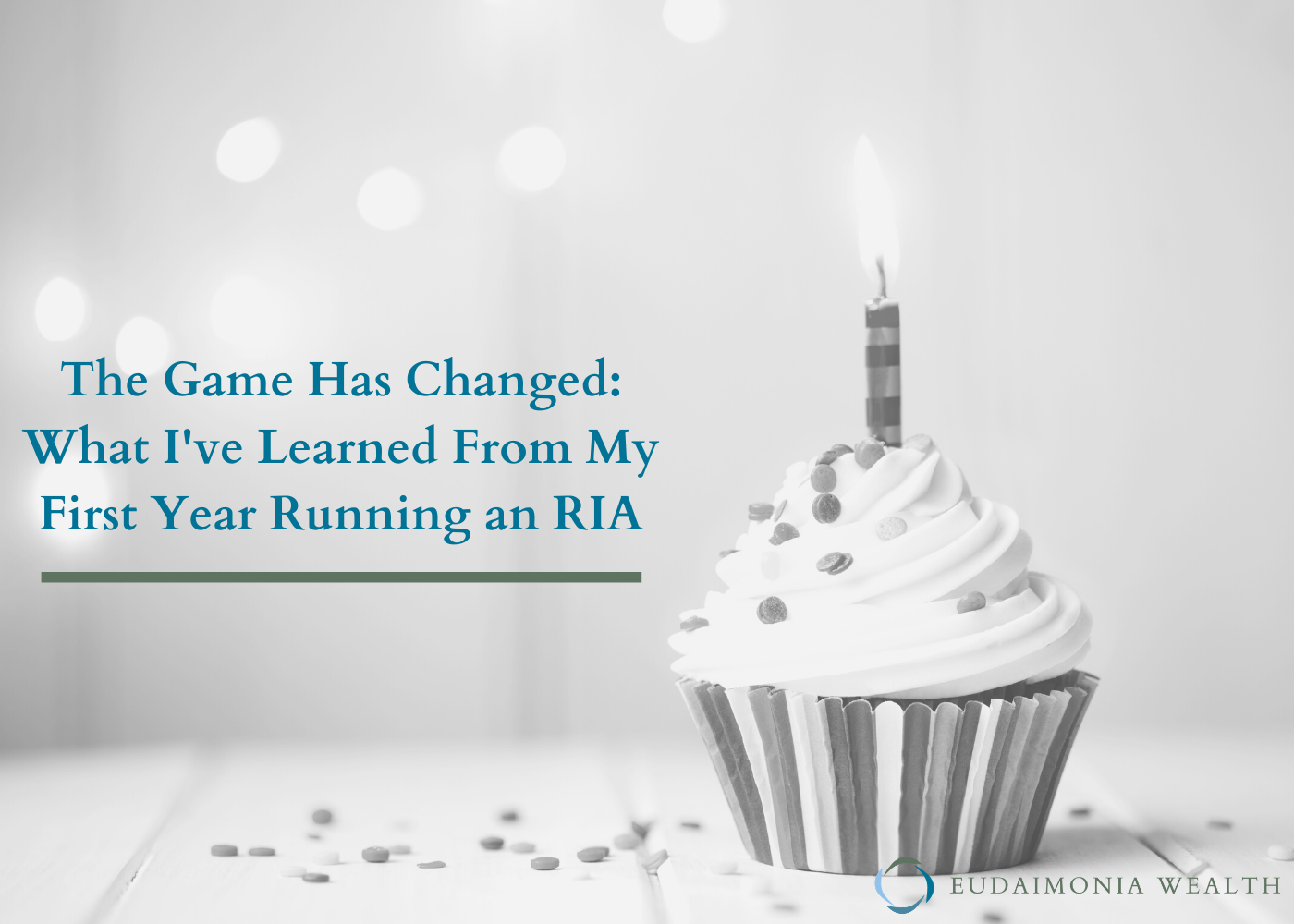 The Game Has Changed: What I've Learned from My First Year Running an RIA Thumbnail
