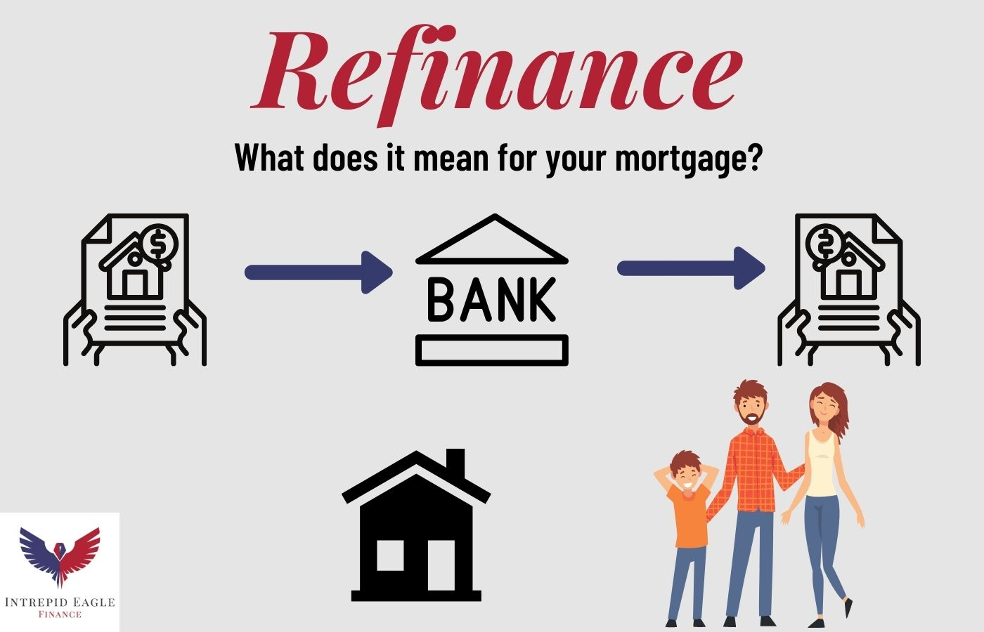 How does a mortgage refinance work