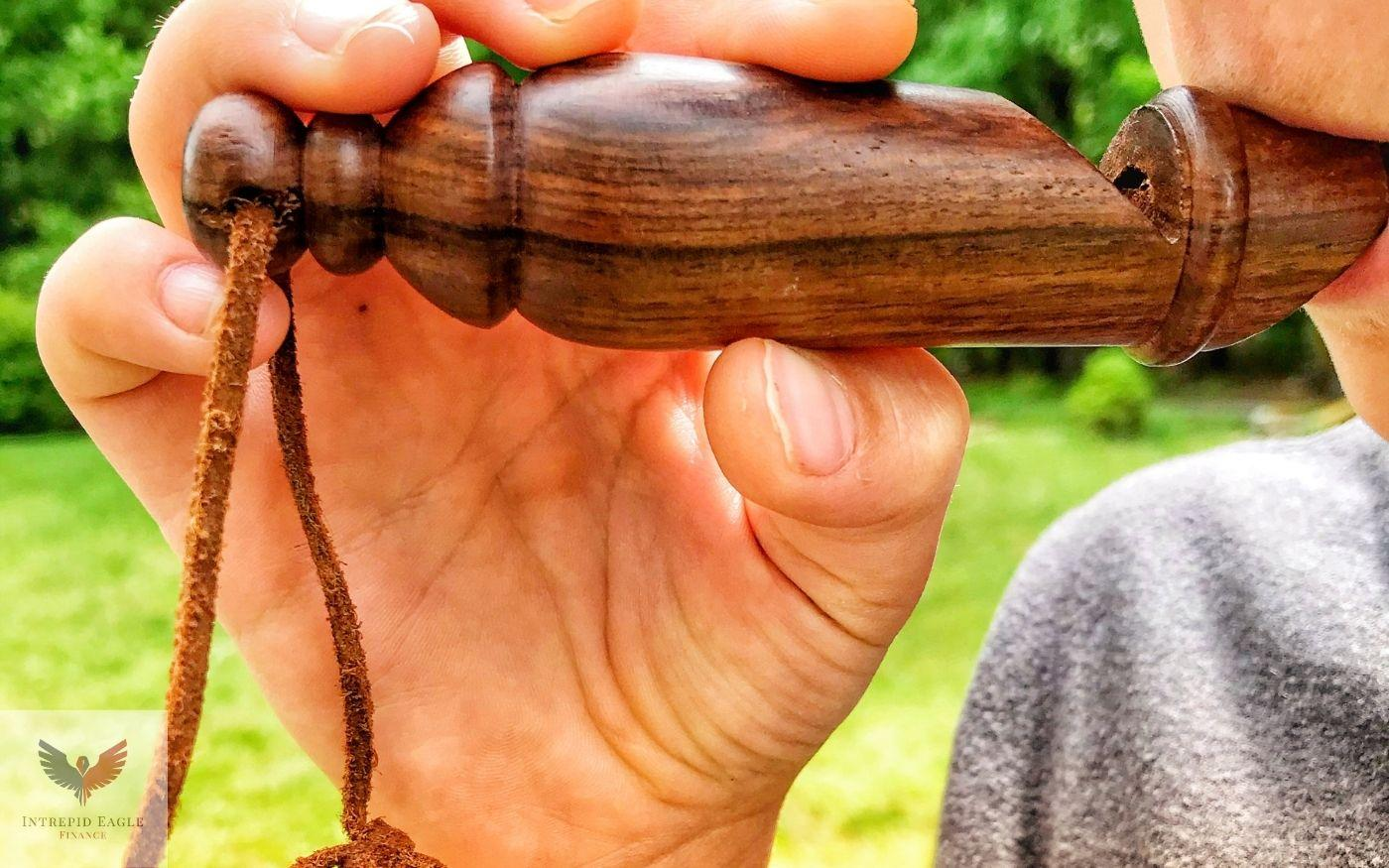 The Wooden Whistle of Benjamin Franklin Thumbnail