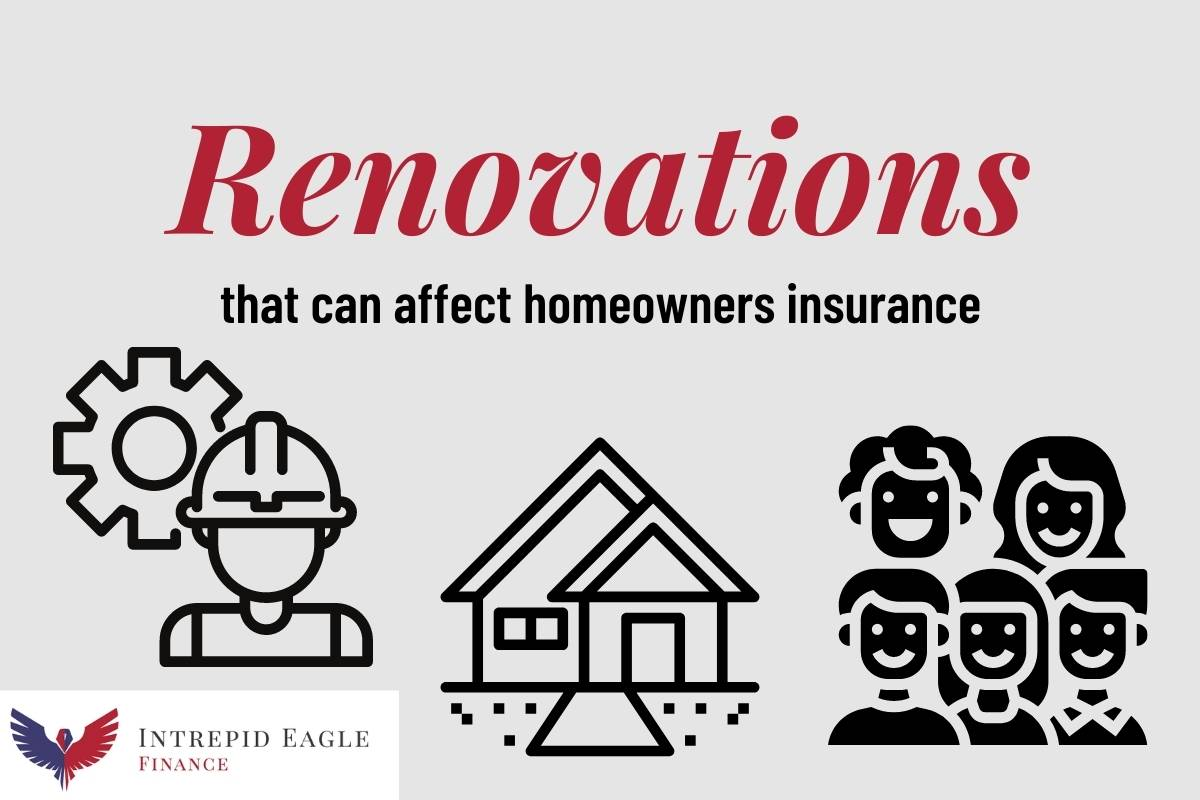 Renovations and homeowners insurance