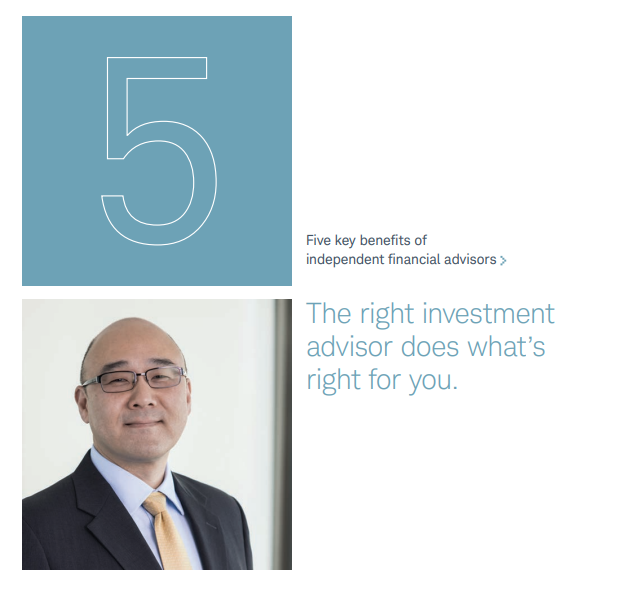 Five Key Benefits of Independent Financial Advisors Thumbnail