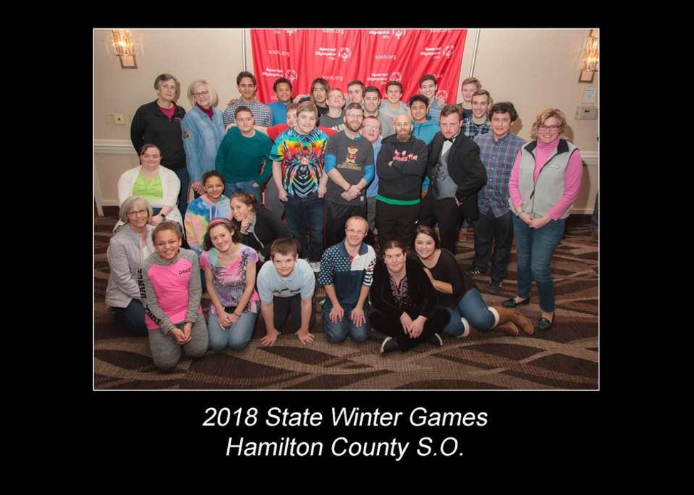 Special Olympics ski team