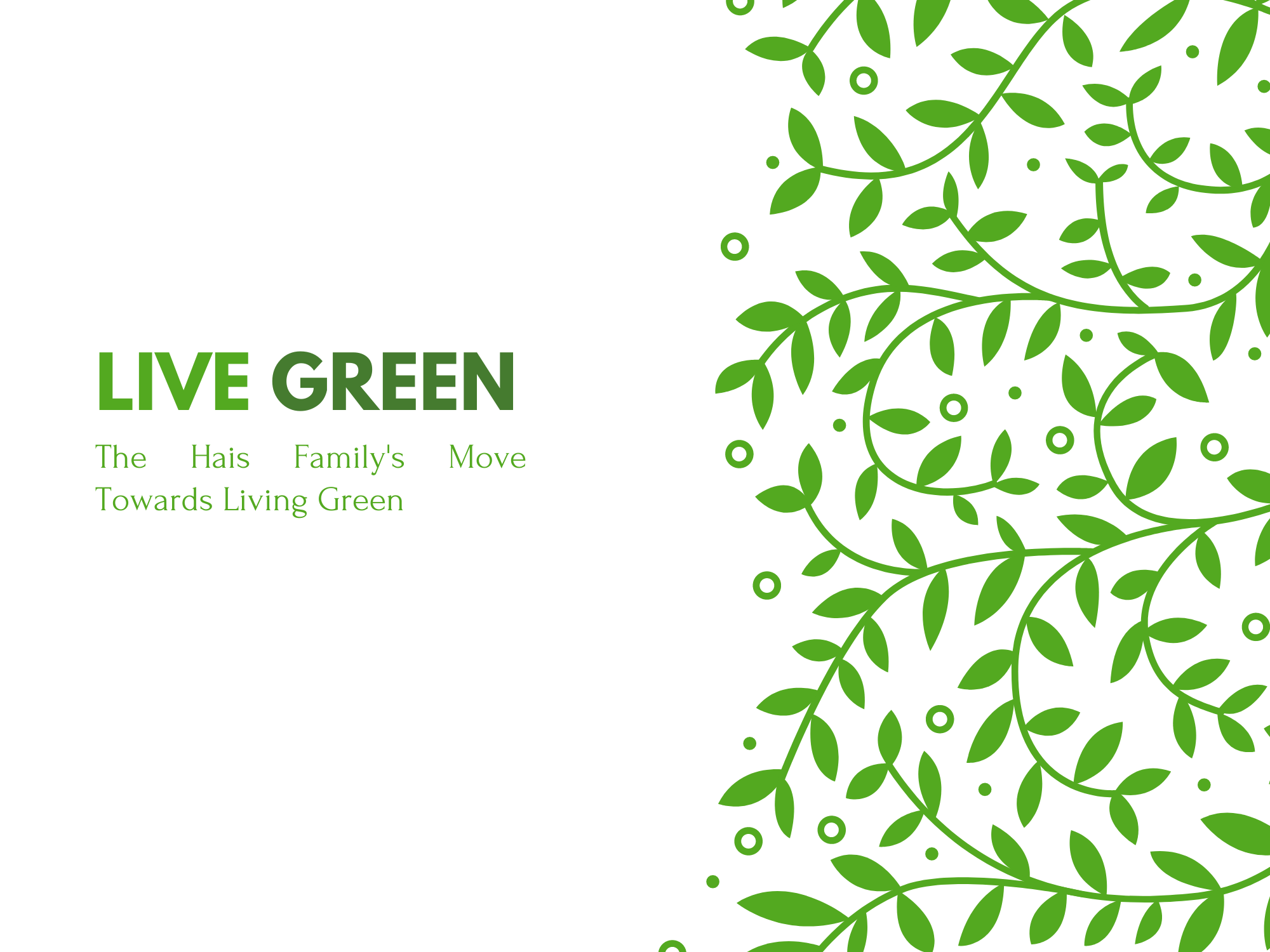 The Hais Family's Move to Living Green Thumbnail