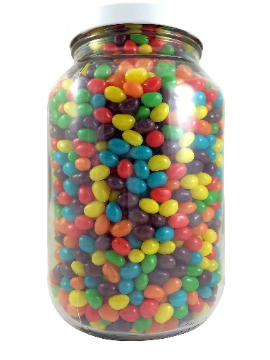 Giant Jar of Jelly Beans (3 litres) - SweetsDirect.co.za