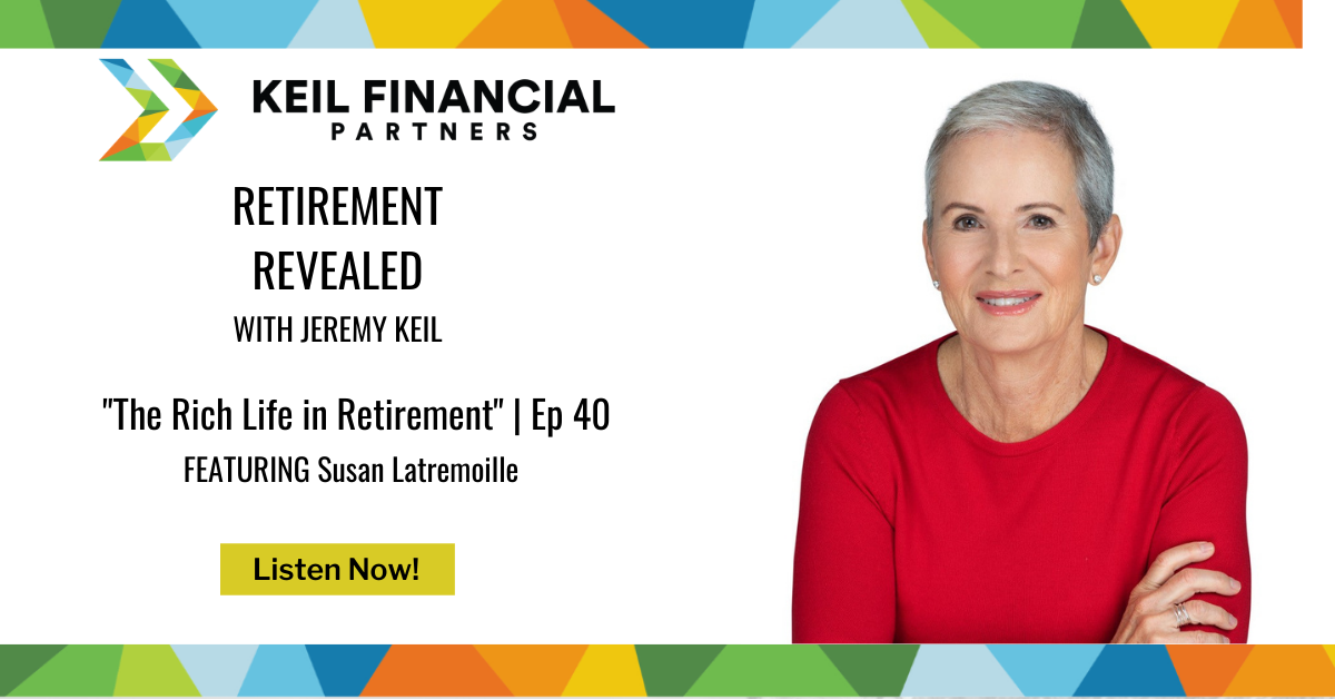 The Rich Life in Retirement – With Susan Latremoille | Podcast Thumbnail