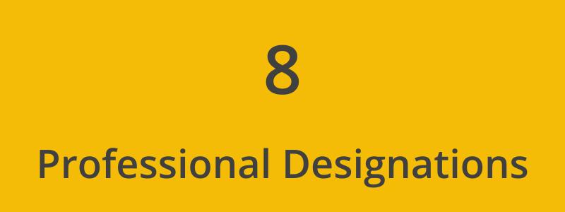 Financial Advisor Professional Designation Qualifications logo