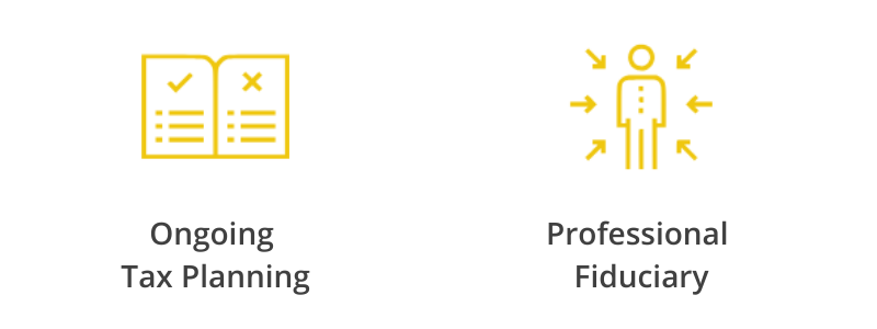 Tax Planning and Professional Fiduciary Logo