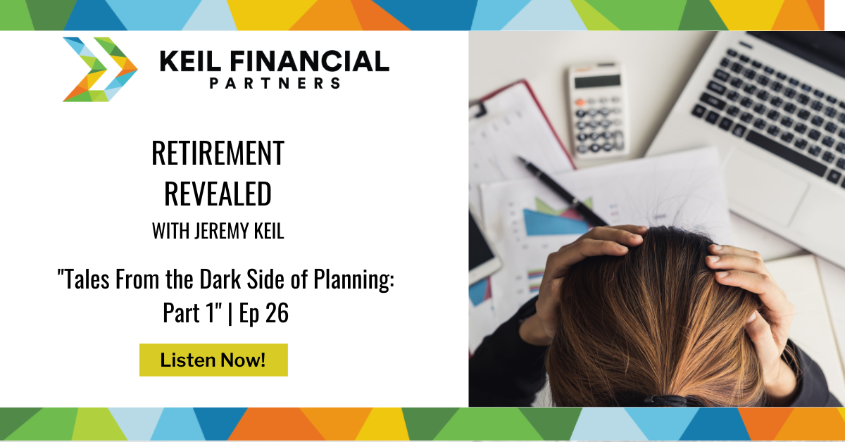 Tales From the Dark Side of Planning: Part 1 | Podcast Thumbnail