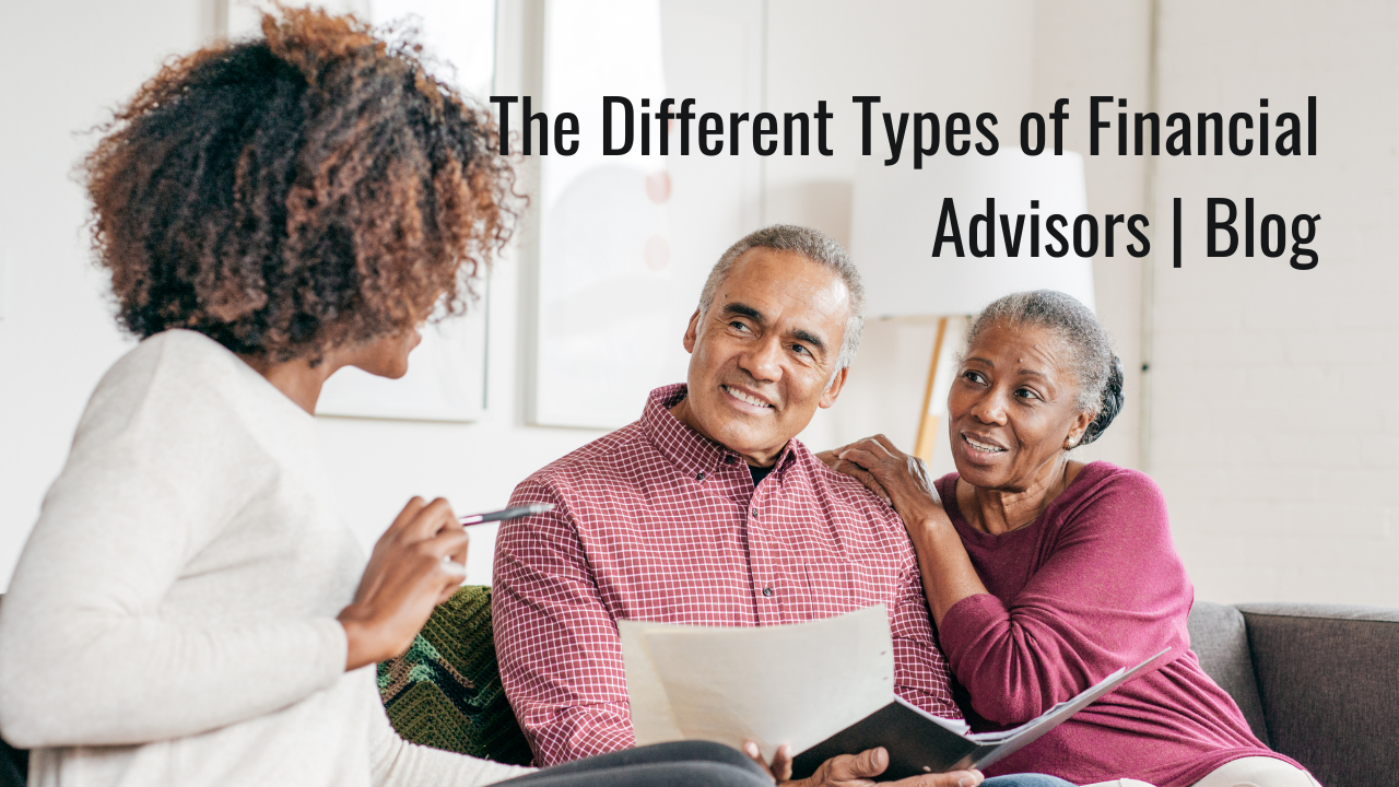 The Different Types of Financial Advisors | Blog Thumbnail